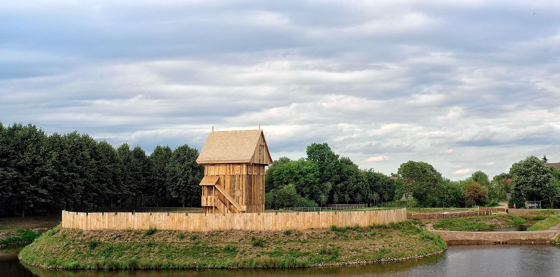 Der Turm des »Castrums Vechtense«